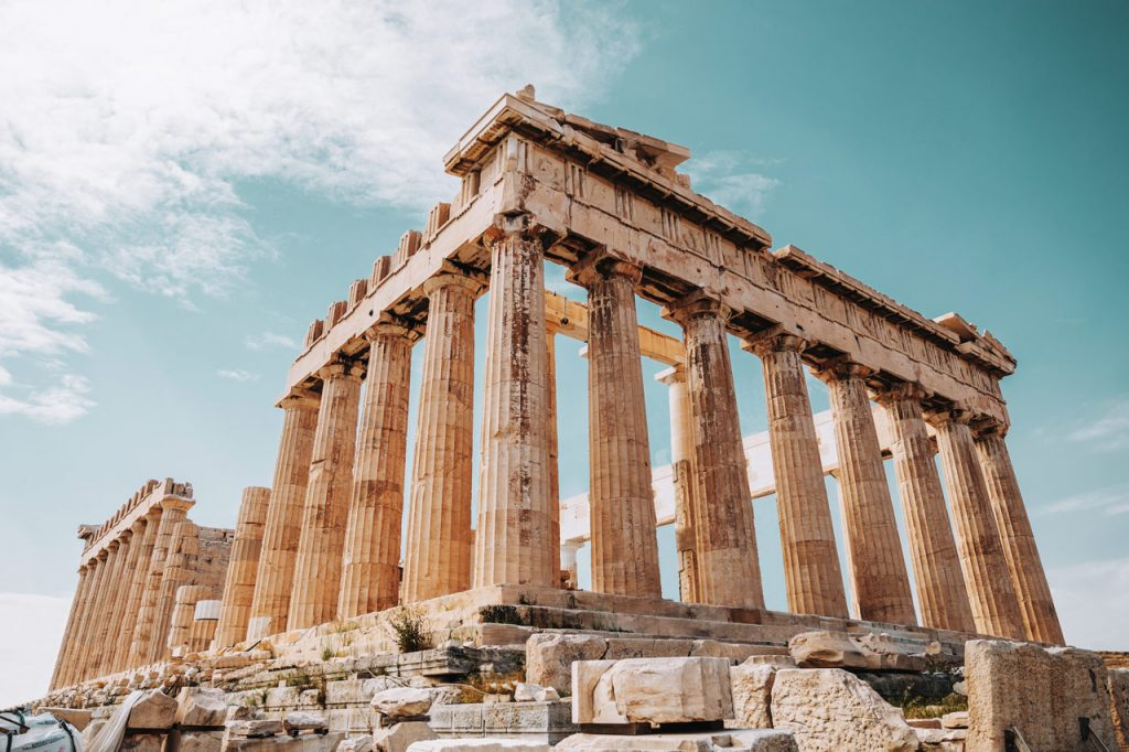Travel experiences in Athens. The Acropolis.