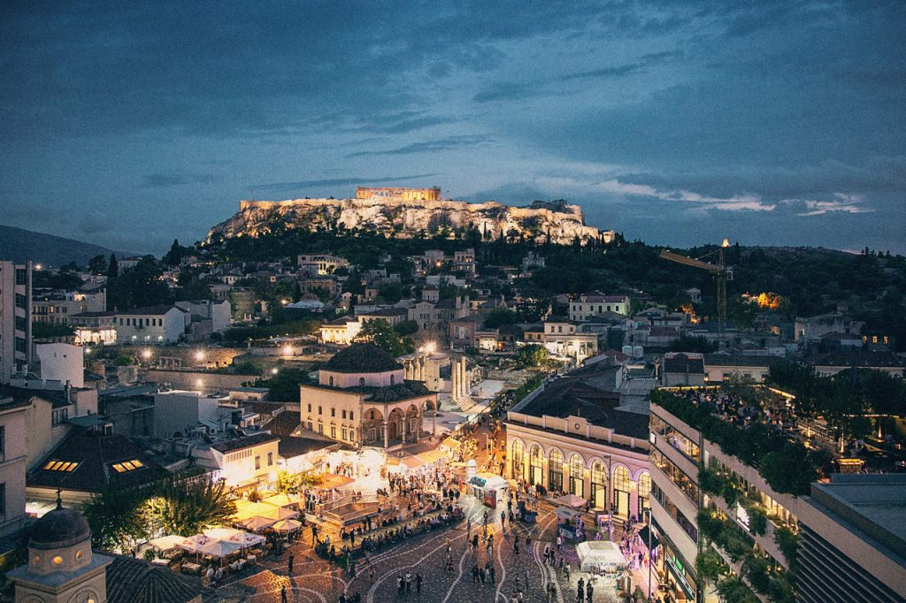 Travel Experiences in Athens.